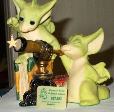 """Whimsical World of Pocket Dragons """"STARS!"""" Real Musgrave collection retired"""