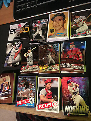2020 TOPPS SERIES 1 TOPPS INSERTS Chrome, Parallels, Trout (You Pick Cards)