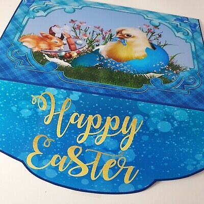 Handmade Easter Gift card/money cash wallet card with chicks