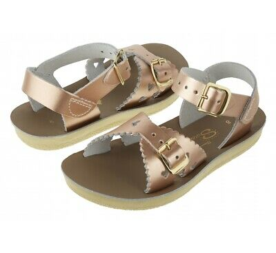 Saltwater Sweetheart Girls Sandals in Rose Gold ( Water Friendly & Washable)