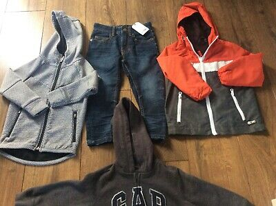 NEXT GAP BOYS CLOTHES X4 BUNDLE Age 3 Years Jeans,Coat,Hoodie,Top,Jacket