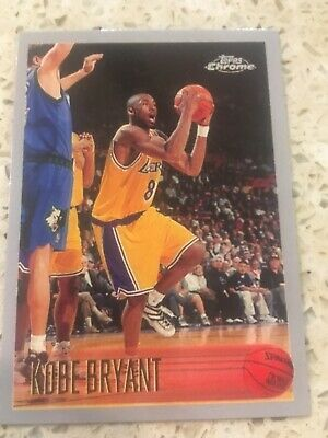 KOBE BRYANT Rookie RP #138 LA Lakers RC Mamba '96 Chrome