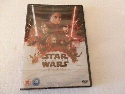 Star Wars ..The Last Jedi ..... Dvd New Sealed