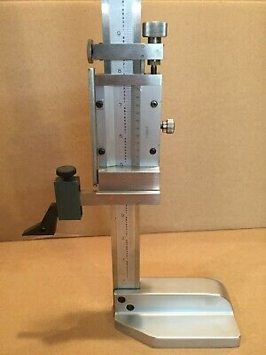 "Mitutoyo 12"" vernier height gage  **VERY NICE!!**"