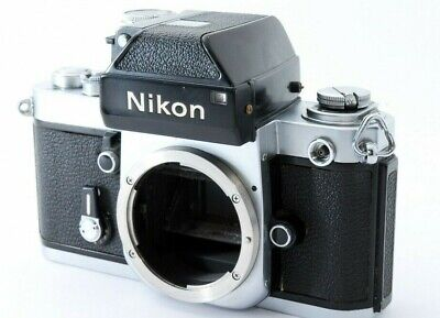 Nikon F2 Photomic 35mm SLR Film Camera DP-1 Silver Body Only From Japan [used]