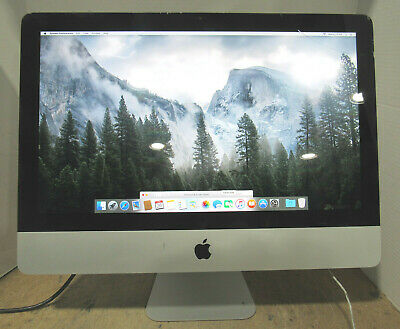 "Mid 2011 Apple iMac A1311 21.5"" 2.5GHz Core i5-2400S 500GB HD 4GB RAM OS X 10.11"