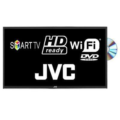 "JVC LT-24C695 24"" Smart LED TV DVD Combi HD Ready WiFi Freeview HD Missing Stand"