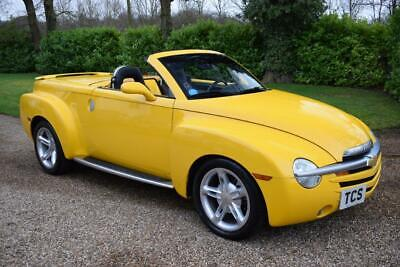 Chevrolet SSR Convertible Pick Up 5.3i V8 Supercharged 400bhp 4-Speed Automatic