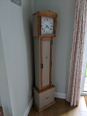 Grandfather Clock Wood Longcase
