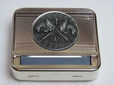 Metal Tobacco Cigarette Rolling Machine Automatic Box US SELLER free shipping