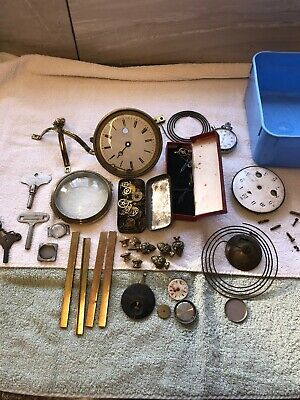 Vintage Clock Parts - Antique French Clock's Parts 🕰 With Keys