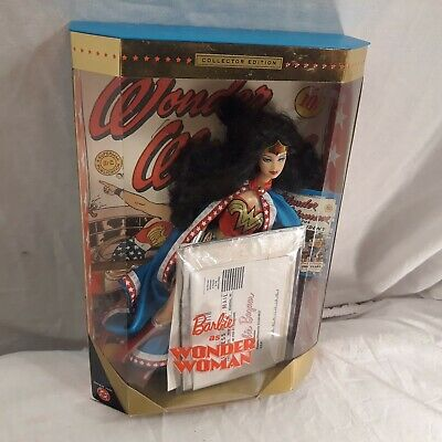 "Mattel Collectors Edition ""Barbie As Wonder Woman"" Doll"