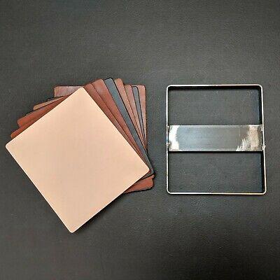 """Leather Mouse Pad Clicker Die Square rounded corners-  8"""" x 9"""""""