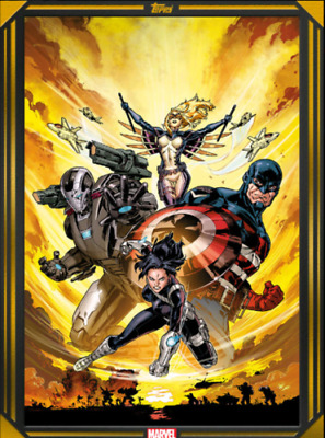 COMIC BOOK DAY GOLD 2020 FORCE WORKS #1 Topps Marvel Collect Digital Card