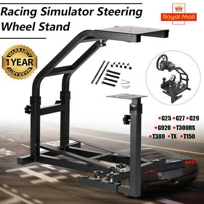 Racing Simulator Steering Wheel Stand Driving Gaming for G25 G29 G920 T300RS TX
