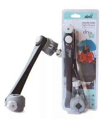 Deki Dry and Go Umbrella Support Holder Mount Stand for Baby Buggy Stroller