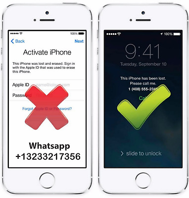 iCloud Unlock Removal Service for Activation Lock Apple ID ( instant - 3 days)