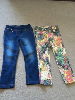 Next Girls Leggings Trousers Size 4 Years