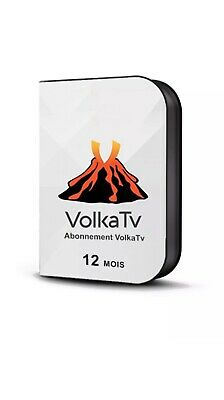 🔥VOLKA🔥 PRO 2 12 MOIS officiel code (android,Smart TV,m3u ,VLC) envoi 5MN