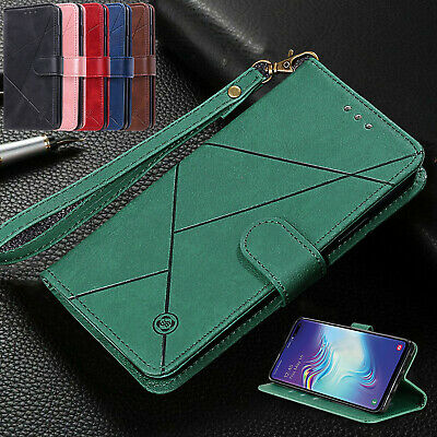 For iPhone 11 Pro Max XS XR 7 6s 8 Plus Cover Leather Magnetic Flip Wallet Case