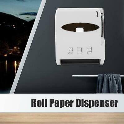 Stainless Steel Blades Toilet Roll Paper Dispenser Holder Roll Wall Mounted Home