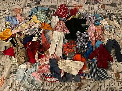 Huge Lot Vintage Barbie Clothes Clothing Outfits Doll