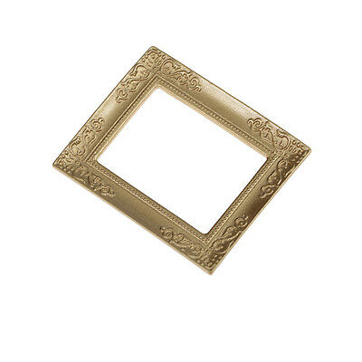 1:12 Dollhouse Miniature Gold Frame Wholesale For Dollhouse-PN