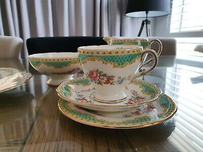 Tea set by Foley bone China. Rare set