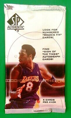 2000-01 Upper Deck SP Authentic NBA Basketball Trading Cards Sealed Pack