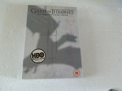 Game Of Thrones  Third Season   ..  Dvd New  Sealed