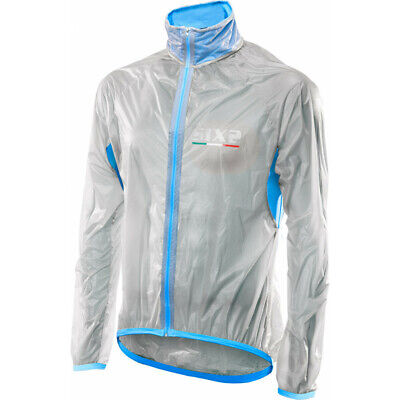 Mantellina Sixs Impermeabile Gost Jacket Trasparente - Light Blue