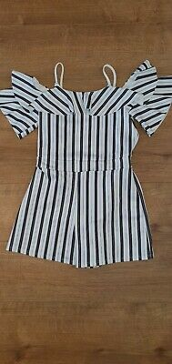 Girls River Island Playsuit Age 11-12 Years