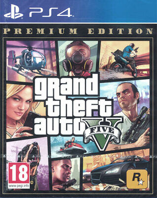 Grand Theft Auto V PREMIUM EDITION - PlayStation 4 / PS4 Neu & OVP - EU Version