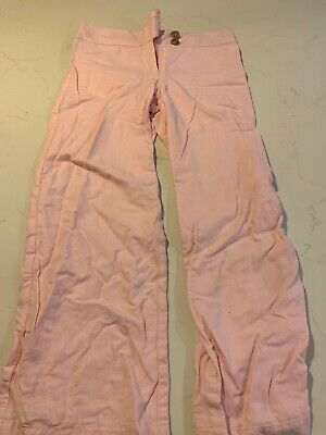 Girls Next Trousers, Pale Pink, Cotton, Linen mix, Age 8 Years, Summer/Spring