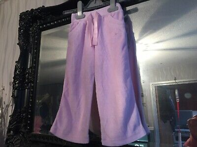 Baby Girls Primark Pink Tracksuit Bottoms Age 12-18 Months