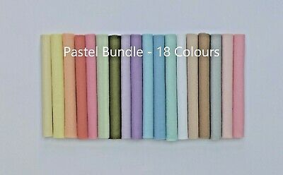 Premium Pastel Craft Felt Pack | 18 Colours | 4 Size Options