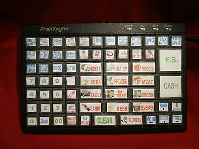 PrehKeyTec MCI 84 Programmable 84 Key USB Keyboard POS