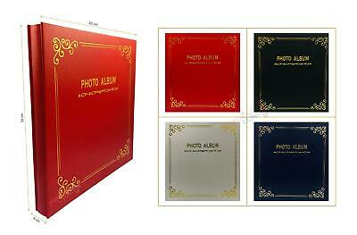 Large Self Adhesive Photo Album Hold Various Size Picture Premium Quality