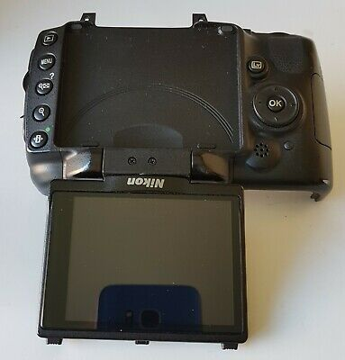 Complete Nikon D5000 DSRL Camera LCD Screen Back Cover Buttons