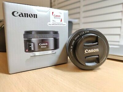 Canon EF 50mm F1.8 STM Lens - Immaculate Condition