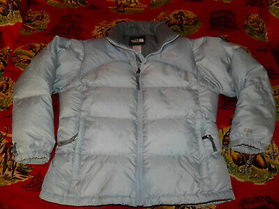 The NORTH FACE 600 Down Jacket Ice Blue GIRL'S Size Large