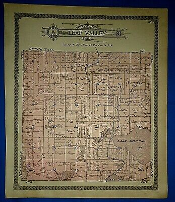 1797 PA MAP Jefferson Jenkintown Mt Lebanon Irwin Prospect Park Pringle SURNAMES