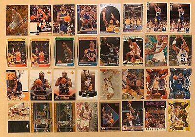 NBA Basketball Card All Star Hall Of Fame 32 Card Lot Rookie Cards Must See!!