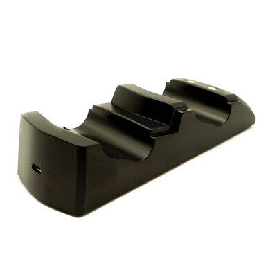 Joypad Gamepad Charger Controller Stand Joystick Dual for Sony 4
