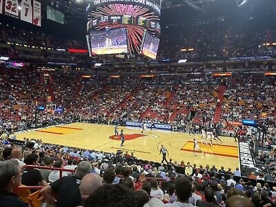 Miami Heat vs. Milwaukee Bucks (2 Tix) Sec: 117 Row:18 3/2/20