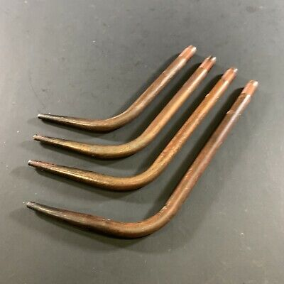 Lot X4 Vintage Cig Type 551 Oxy Acetylene Oxy Cutting Tips Size 8 10 12 15