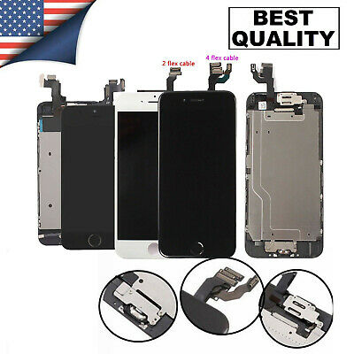 For iPhone 6 7 8 6s Plus 5s Full Assembly LCD Touch Screen Replacement Digitizer