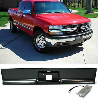 Painted White Roll Pan Tailgate Handle Relocator for 99-07 Silverado Fleetside