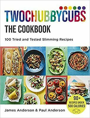 Twochubbycubs The Cookbook: 100 Tried and Tested Slimming ... Hardcover Book NEW