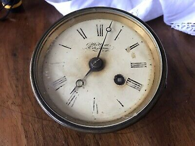Single Fusee Movement And Dial Needs Cleaning But Very Nice Quality No Pendulum